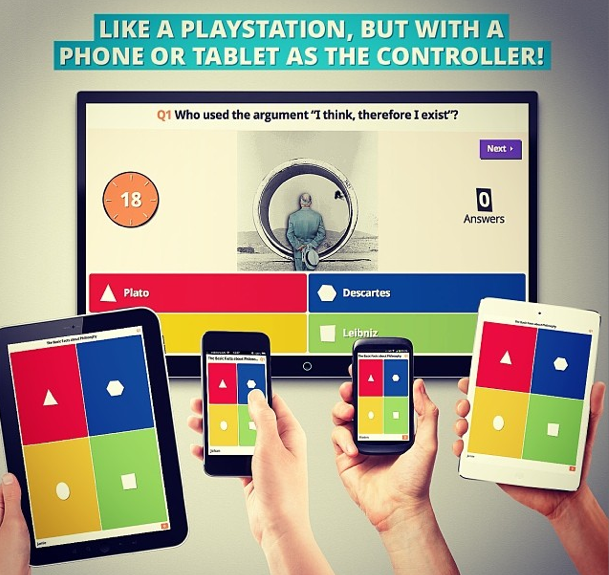 Kahoot equals easy, fun, gamified assessment