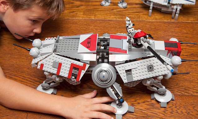 Parents complain new Lego 'stifles creativity' due to franchise links