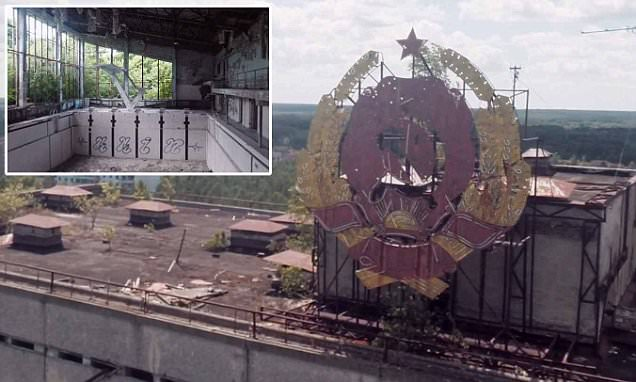 Drone reveals footage of a city decaying after Chernobyl explosion