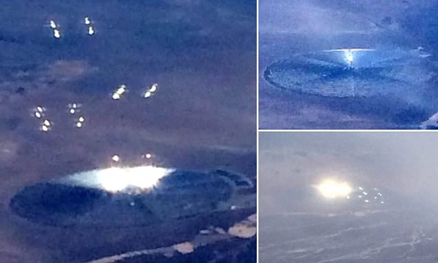Airplane passenger 'takes picture of UFO' near Area 51 military base