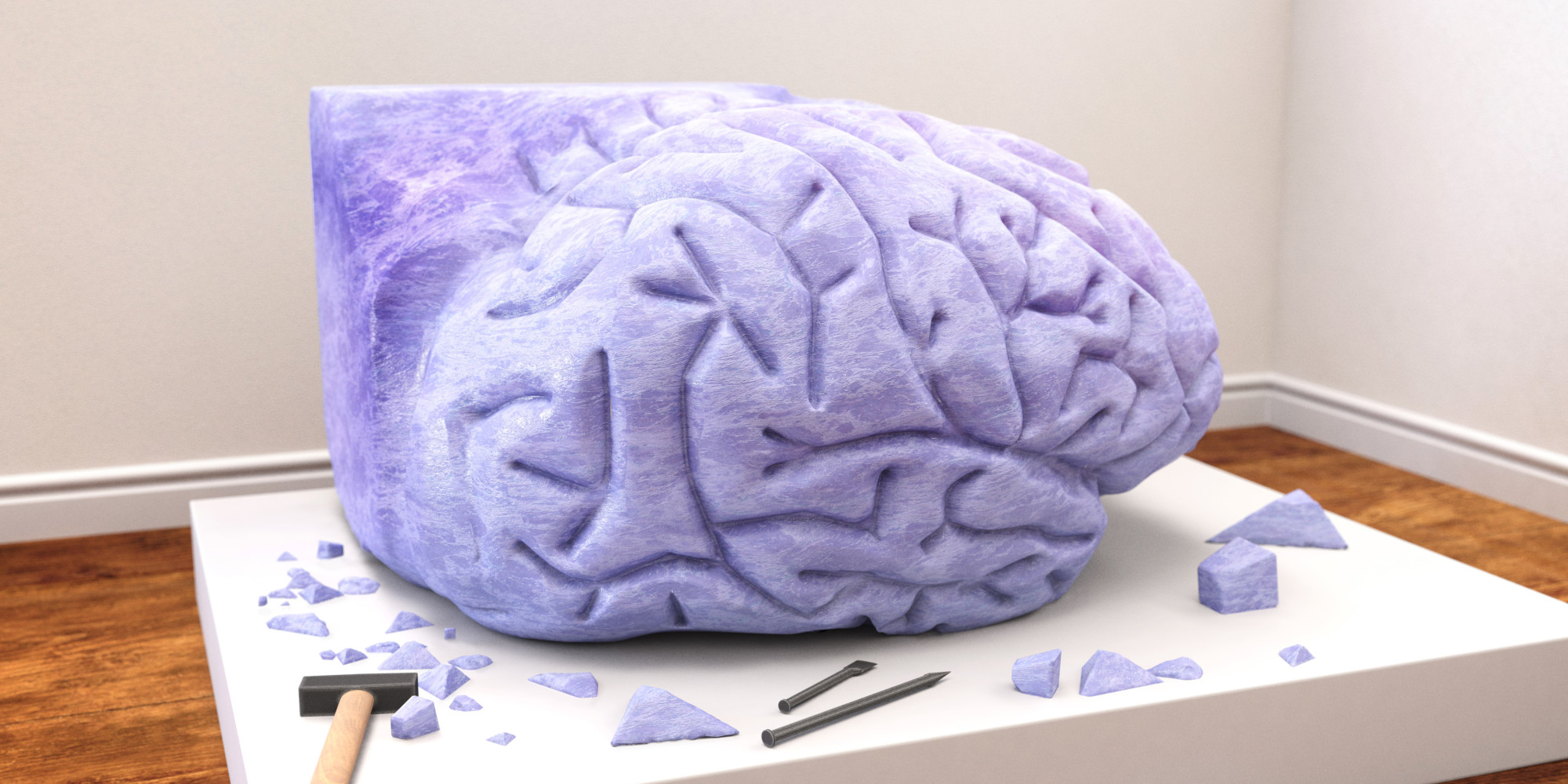 How Producing Art Can Keep Our Brains Functioning
