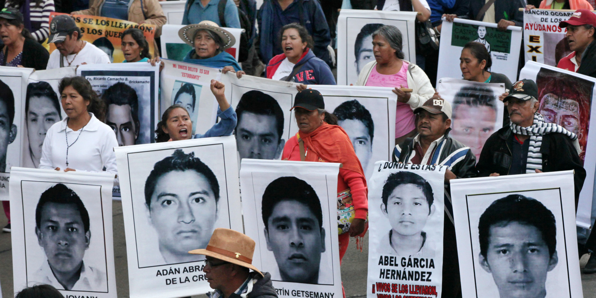 Parents Of Missing Mexican Students Plead To Cartel For Help Rather Than Government