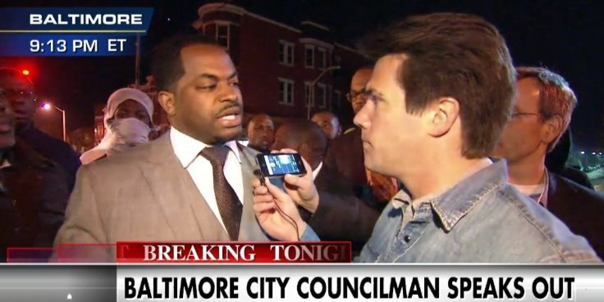 Fox News Wanted To Focus On Looters, But This Baltimore City Council Member Wasn't Having It