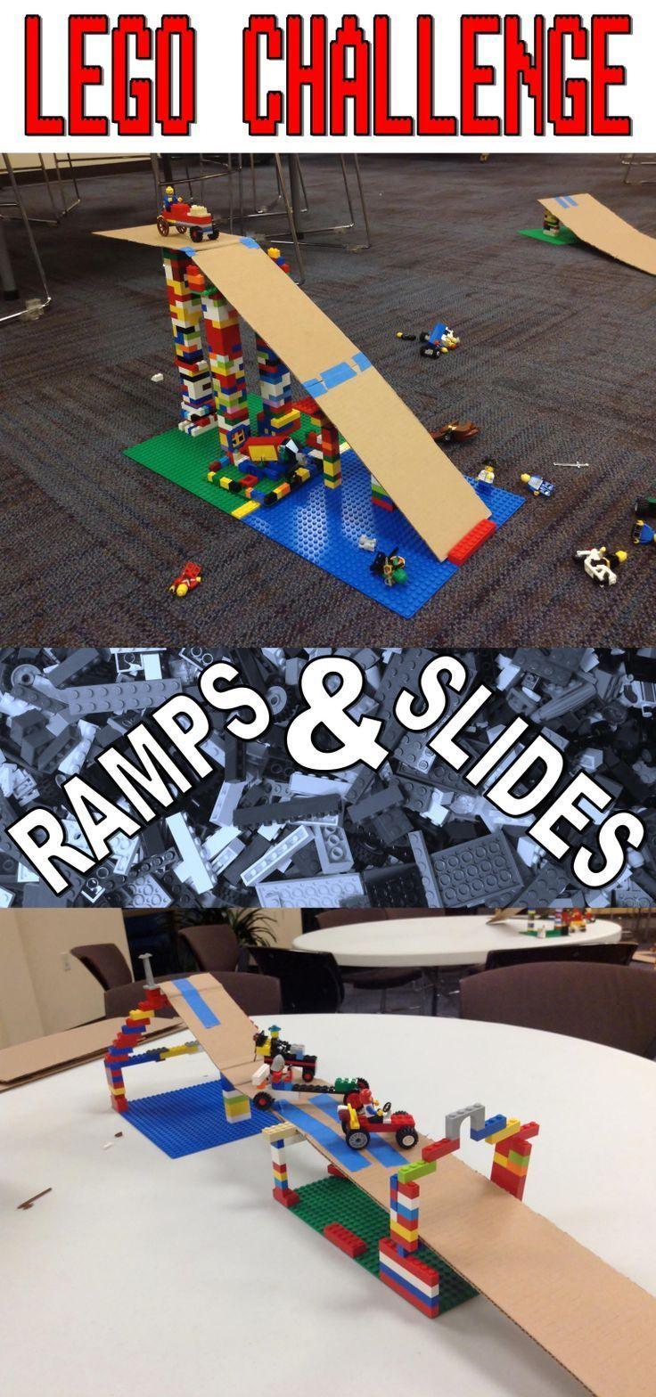 Lego Club Challenge–Ramps and Slides | Lego stem activities