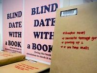 Blind Date with a Book displays
