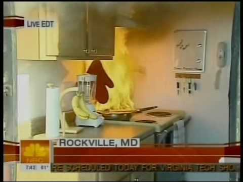 NBC TODAY Show: Kitchen Fire Safety, Apr. 23, 2007