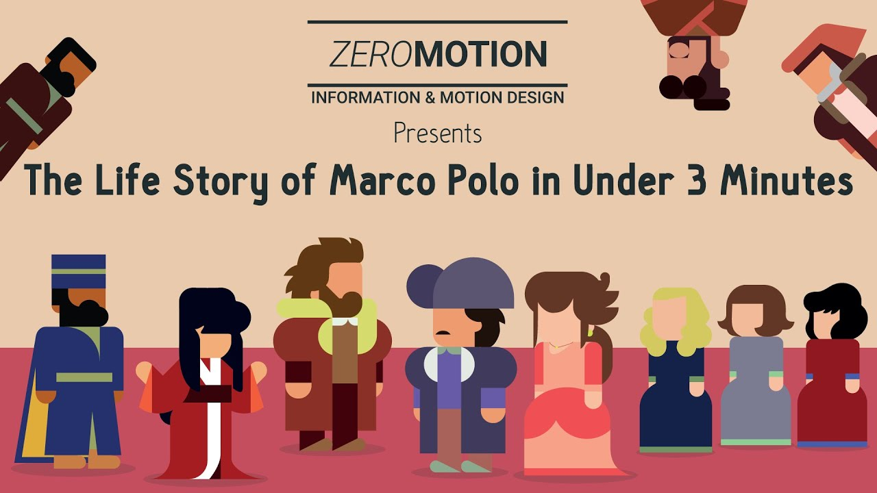 The Life Story of Marco Polo in Under 3 Minutes