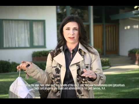 Bank Of America Cash Rewards credit card commercial