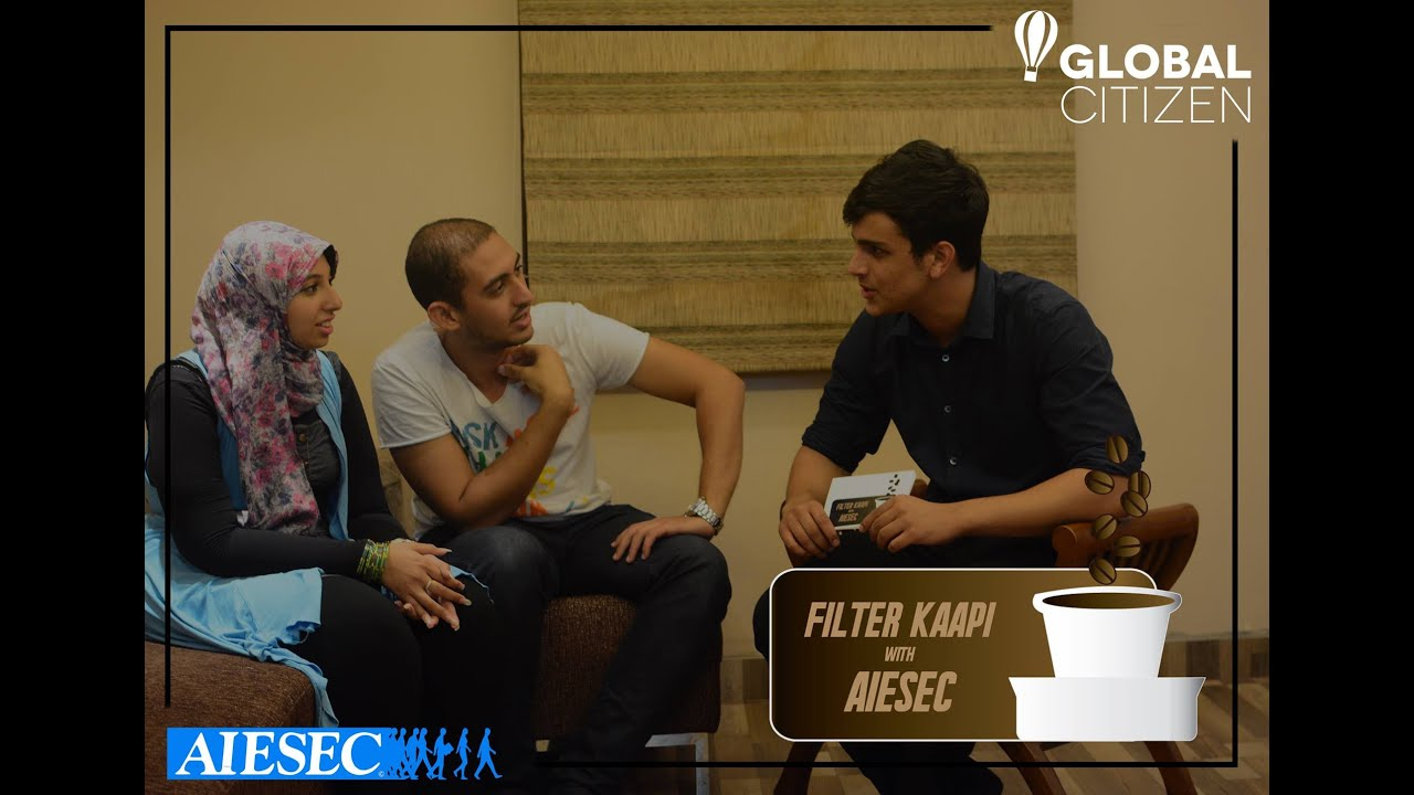 Filter Kaapi with AIESEC