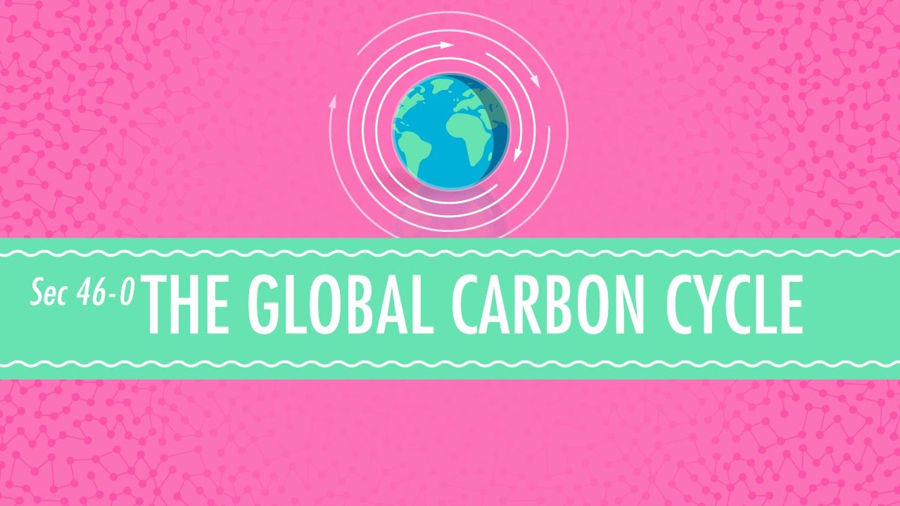 The Global Carbon Cycle - Crash Course Chemistry #46