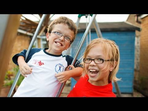 Carys and George's story - a Genetic Disorders UK / Jeans for Genes Day film