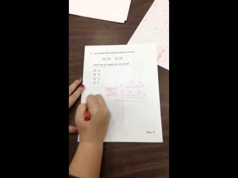 Addition and comparing sums