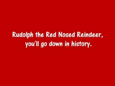 Rudolph the Red Nosed Reindeer song lyrics... - SafeShare.tv
