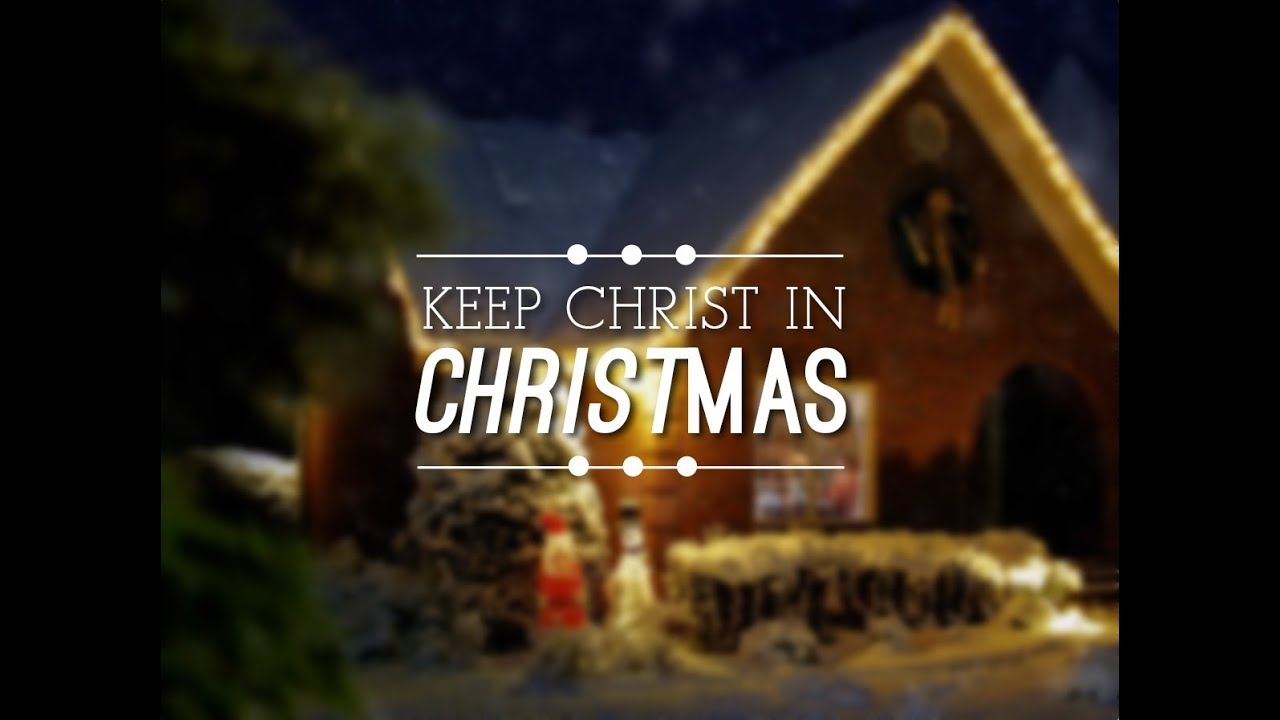Keep Christ In Christmas Mini Movie for Church