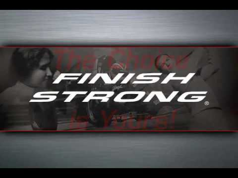 Finish Strong w/DVD by Simple Truths