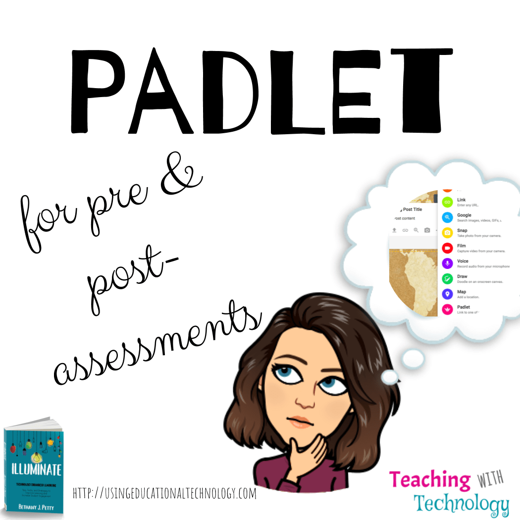 Using Padlet for Pre-Assessments - Teaching with Technology