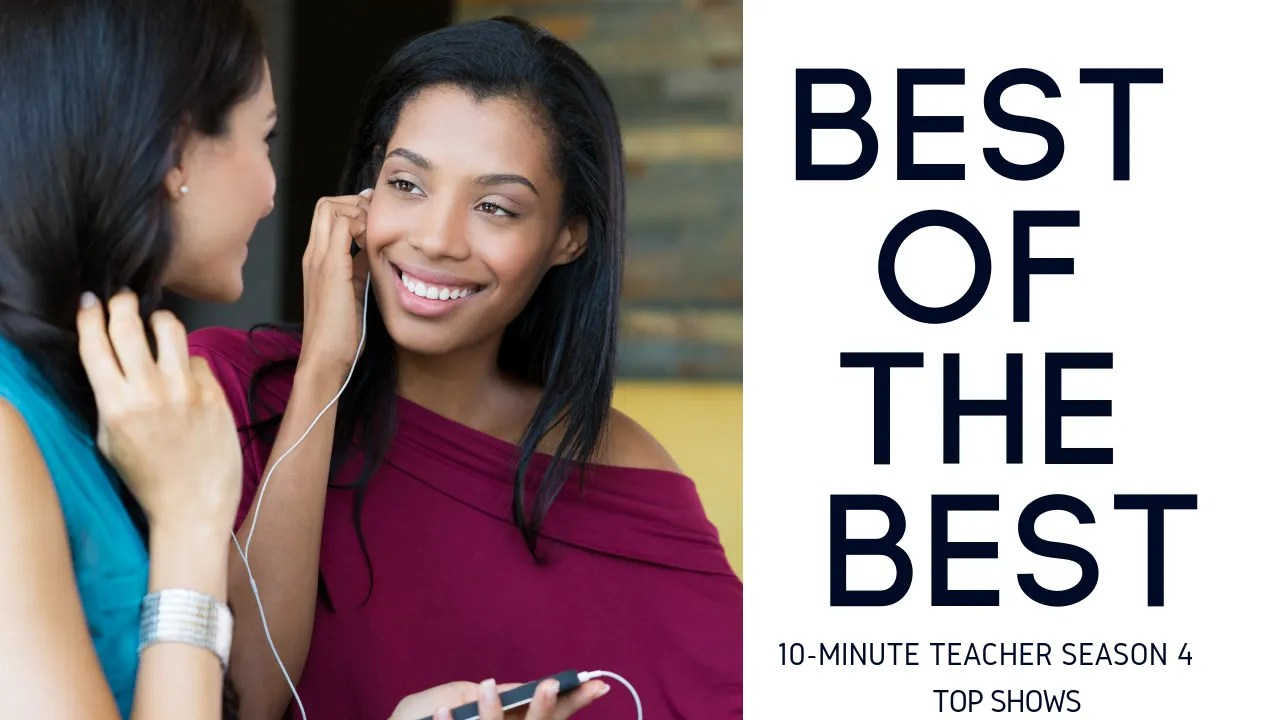 Top 5 Shows of 2018 - 10 Minute Teacher @coolcatteacher