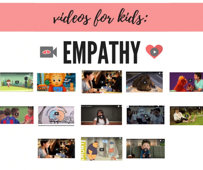 Videos about Empathy for Kids: 18 Short Clips to Help Understand Others