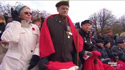 Ottawa Children's Choir sing 'O Canada' for Remembrance Day | Watch News Videos Online