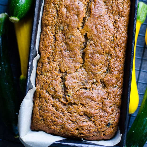 Healthy Zucchini Bread - iFOODreal - Healthy Family Recipes