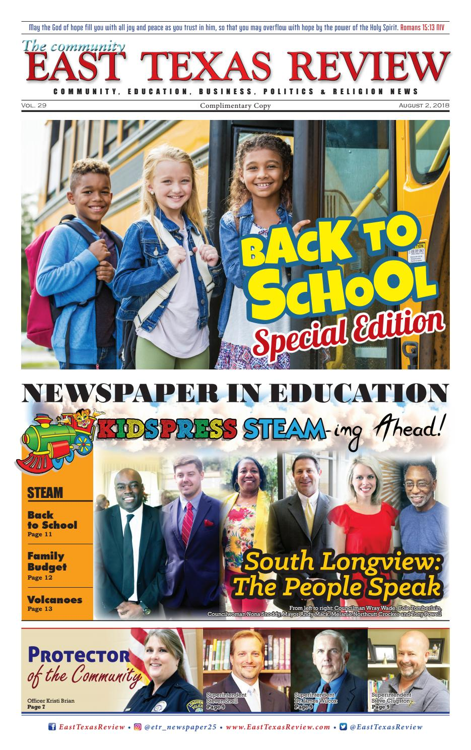 East Texas Review: Back to School Special Edition