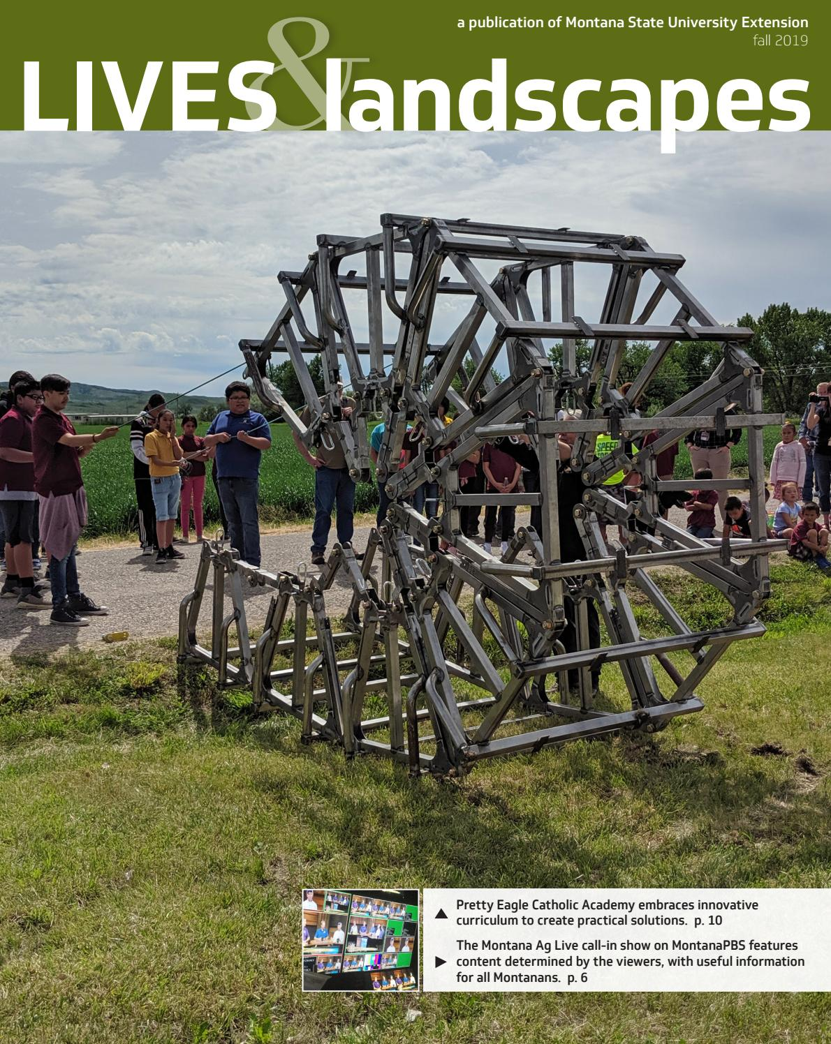 Lives & Landscapes Magazine - Fall 2019 Issue