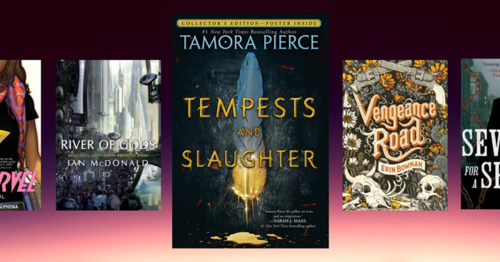 Pack Your Bags: The Books Tamora Pierce Is Bringing on Tour