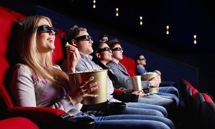 Fino a 4 biglietti per film in 3D con pop corn e bibita da Movie Planet Group (sconto fino a 51%).Valido in 6 sedi