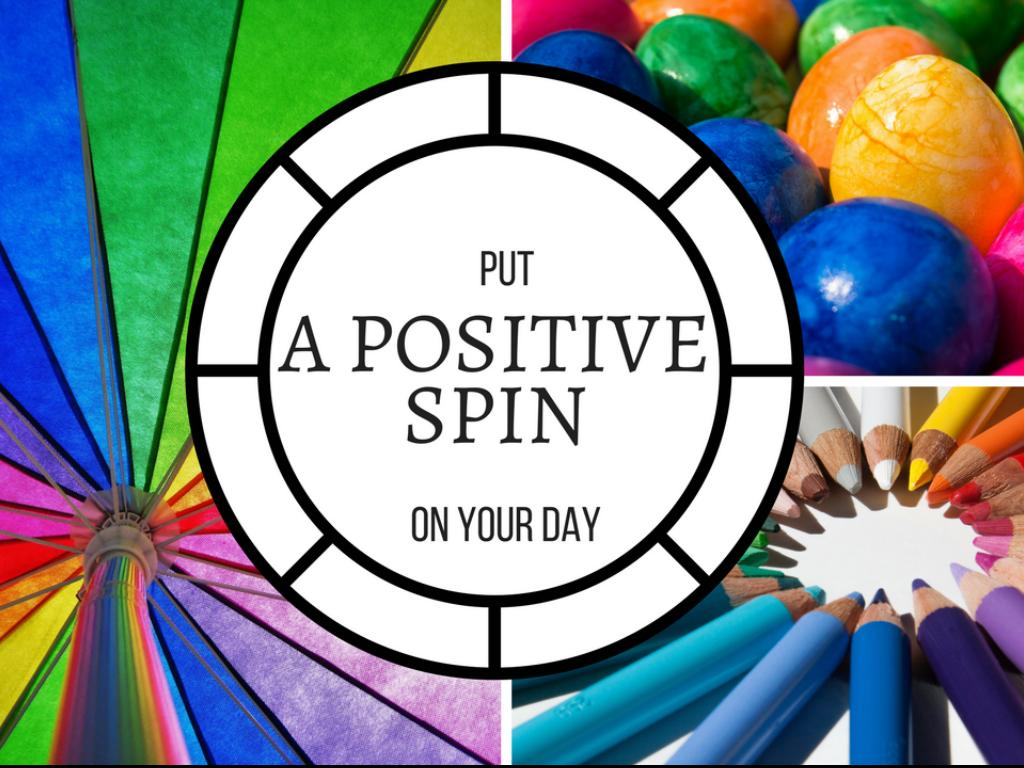 Put A Positive Spin On Your Day  - A Haiku Deck by Susan Spellman Cann