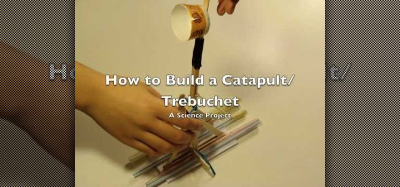 How to Build a popsicle catapult