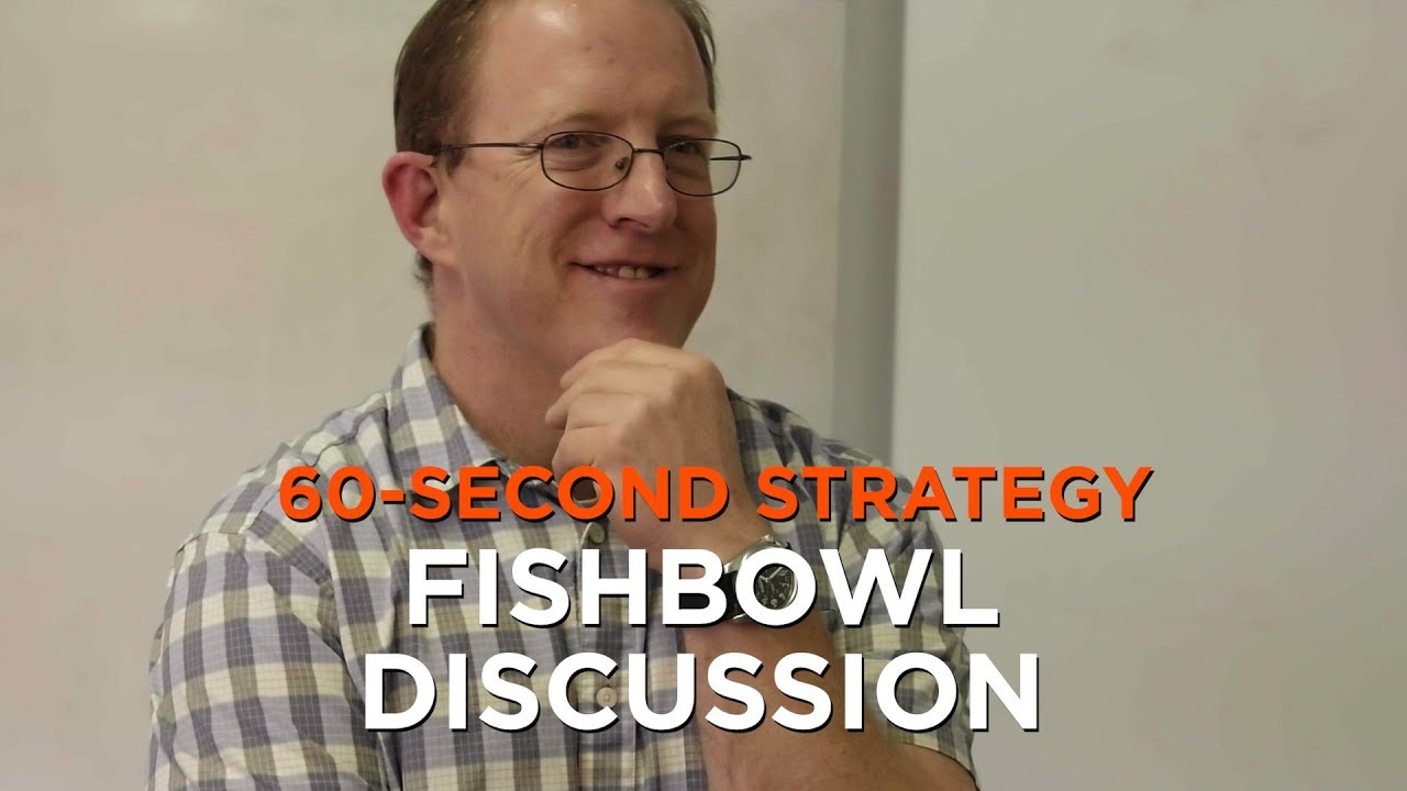 60-Second Strategy: Fishbowl Discussion | Edutopia