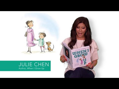 Julie Chen Reads From Her Picture Book, WHEN I GROW UP