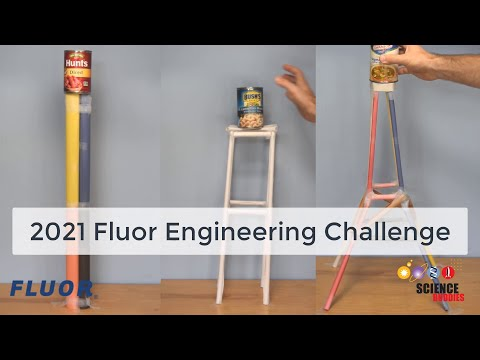 Tallest Tower: 2021 Fluor Engineering Challenge