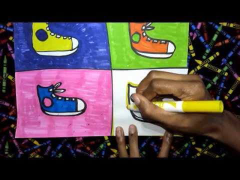 POP ART SHOES HANDS ON DEMO Step 8