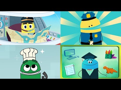 StoryBots | What To Be When You Grow Up | Professions Songs For Kids 👩🏻‍✈️👩🏾‍🚀👨🏽‍🍳👨🏻‍🏫 |