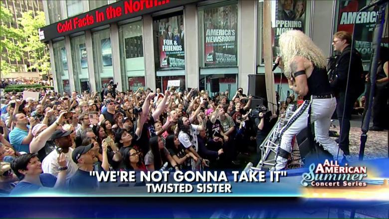 Watch Twisted Sister's Epic Performance of 'We're Not Gonna Take It'