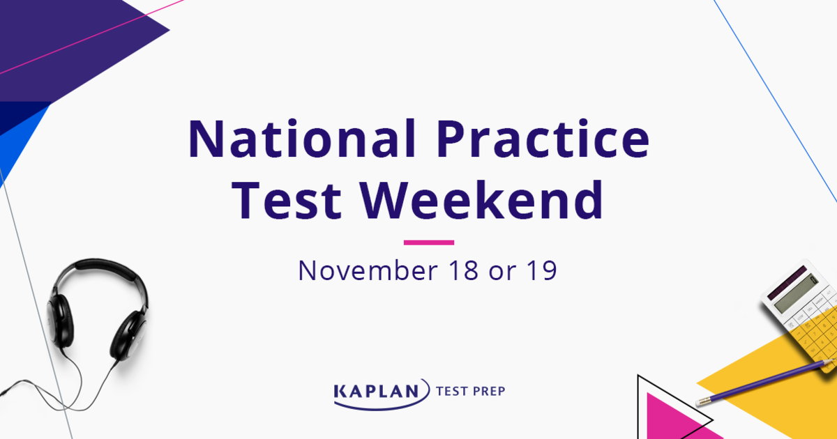 National Practice Test Weekend