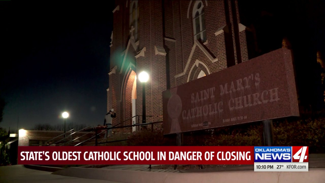 Oldest Catholic school in Oklahoma at risk for closing