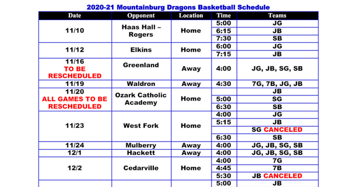 20-21 Basketball Schedule with Starting Times.docx
