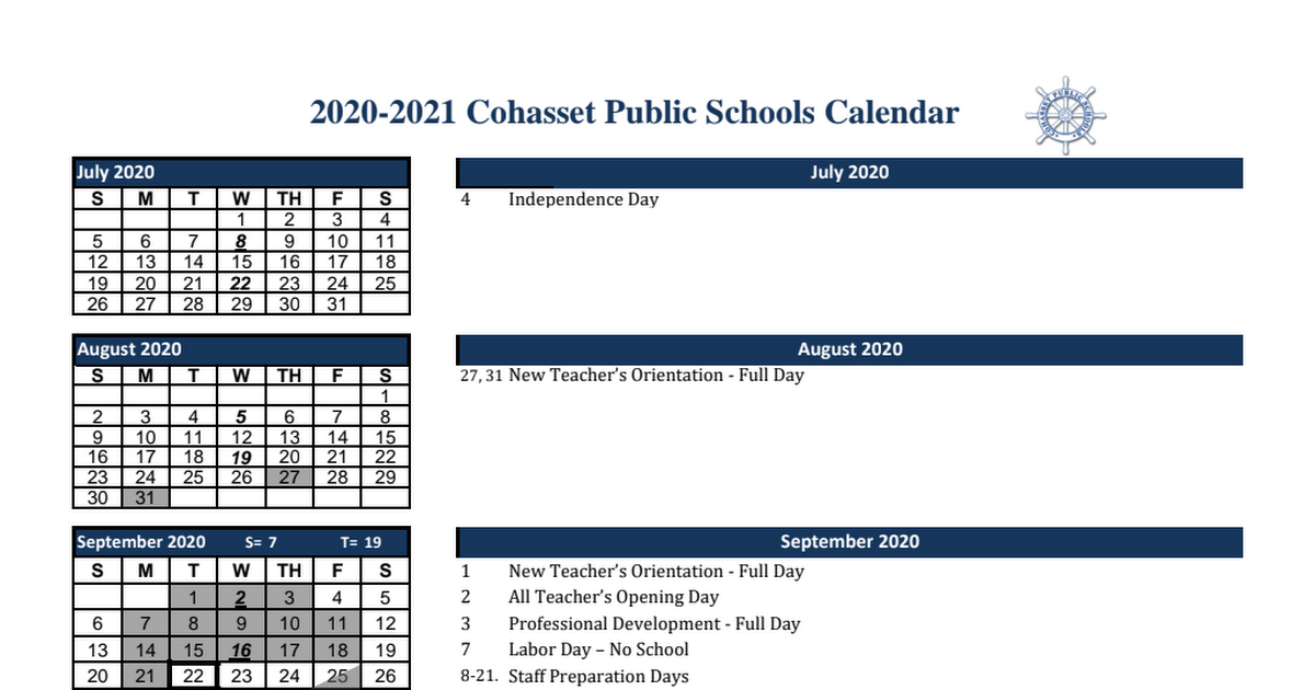 2020-2021_Cohasset_Public_Schools_Calendar_Approved_by_SC_12.2.2020.pdf