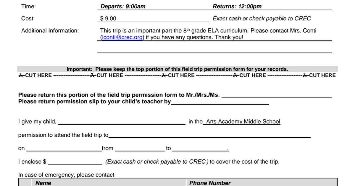 WDC Bushnell Permission Slip 8th Grade 2017.pdf