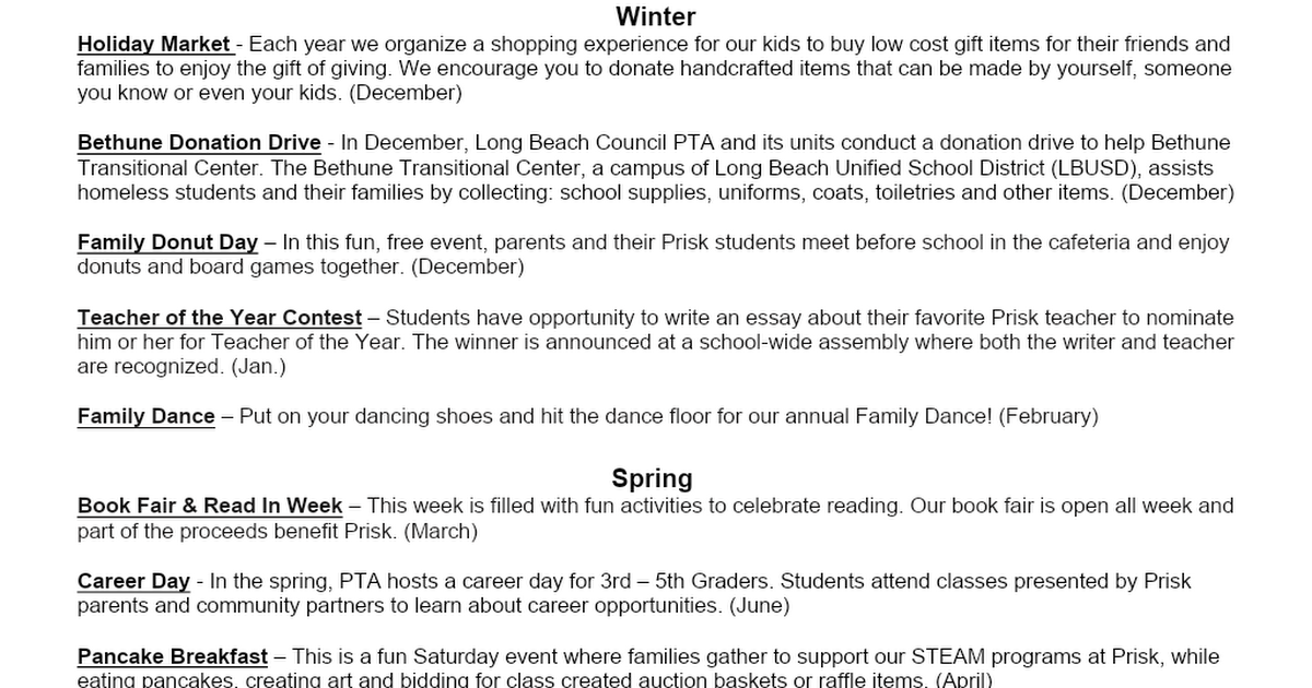 Prisk Our Village Events.docx