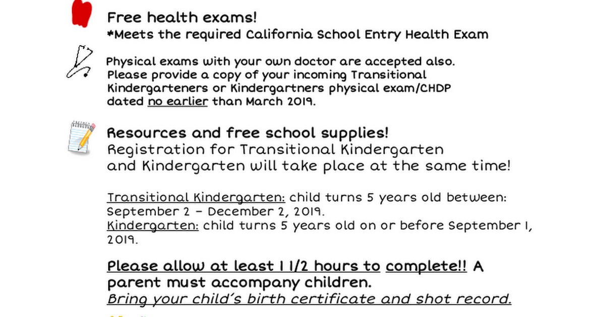 Kindergarten round up 2 page flyer 19