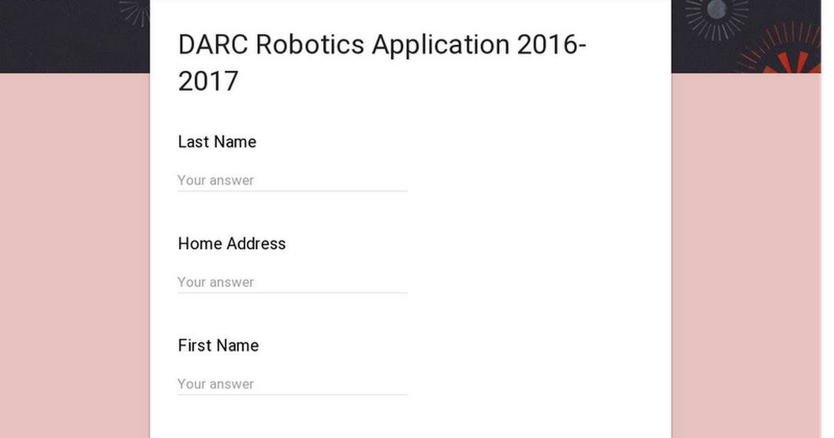 DARC Robotics Application 2015-2016