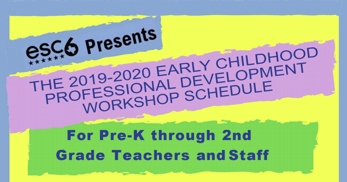 Early Childhood Workshop Schedule 2019-2020 (3) (1).pdf