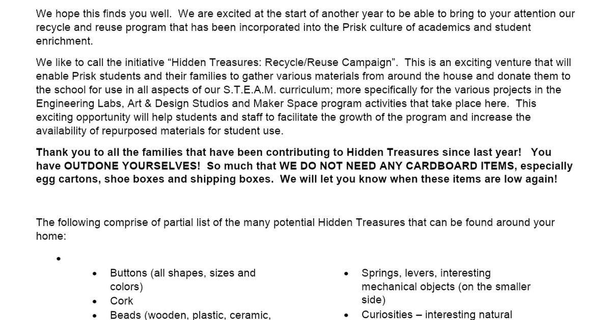 Hidden Treasures.docx