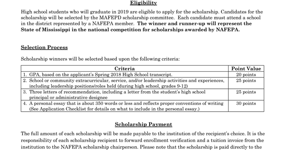 NAFEPA Scholarship Info  Application 2019_FINAl_Fillable.pdf