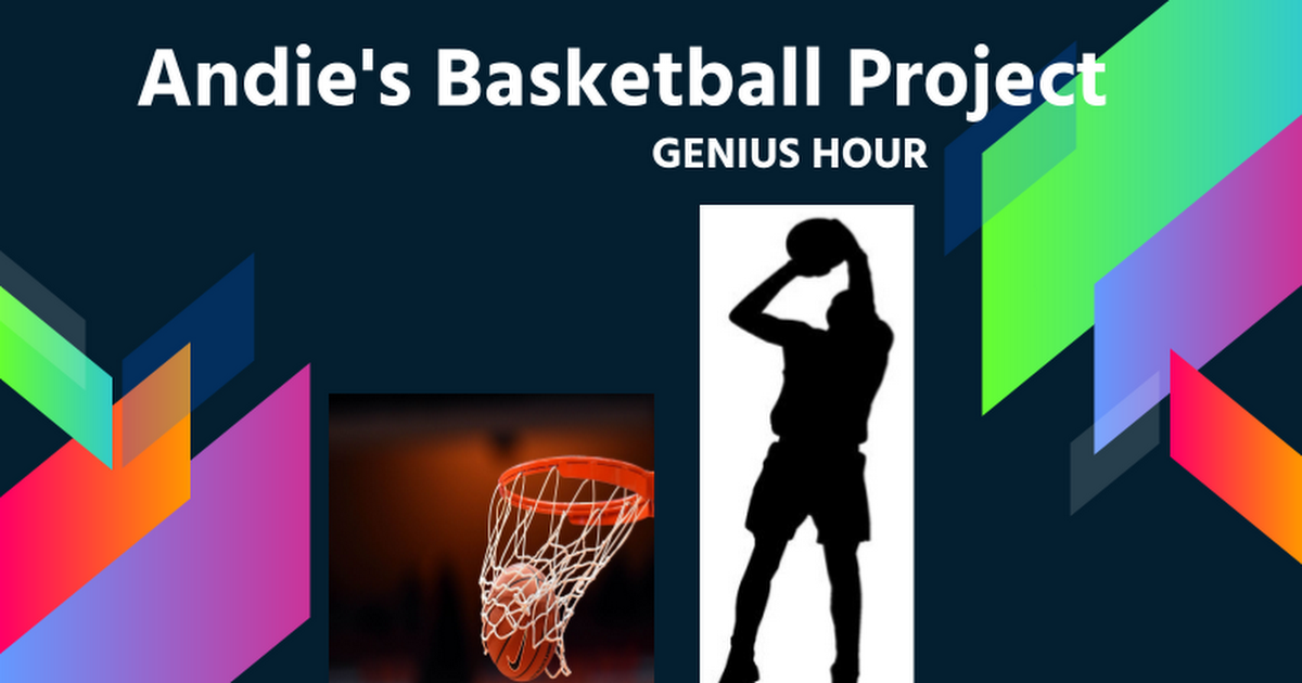 Andie's Official Basketball Project