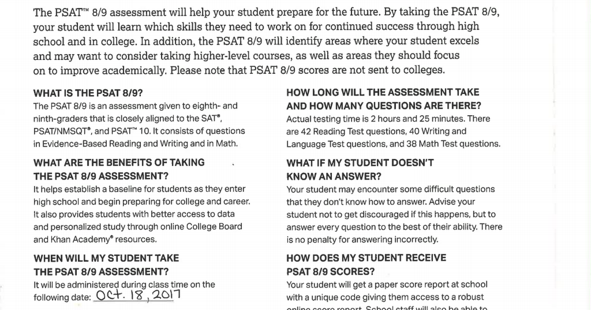 PSAT parent info Spanish.pdf