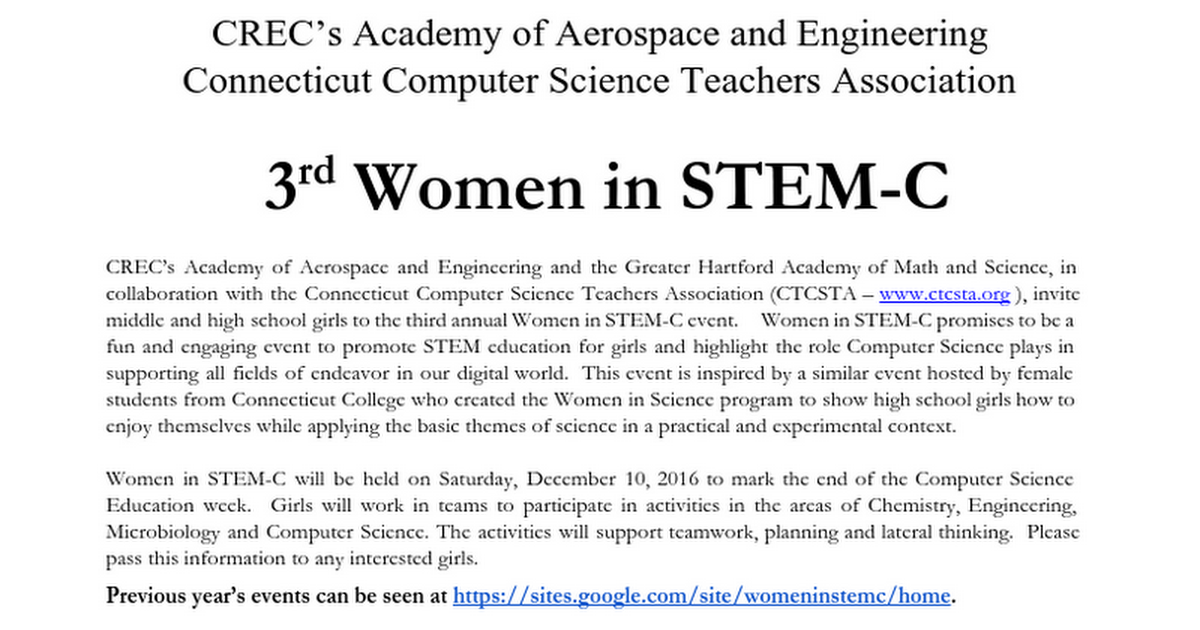 Women in STEM_C 2016